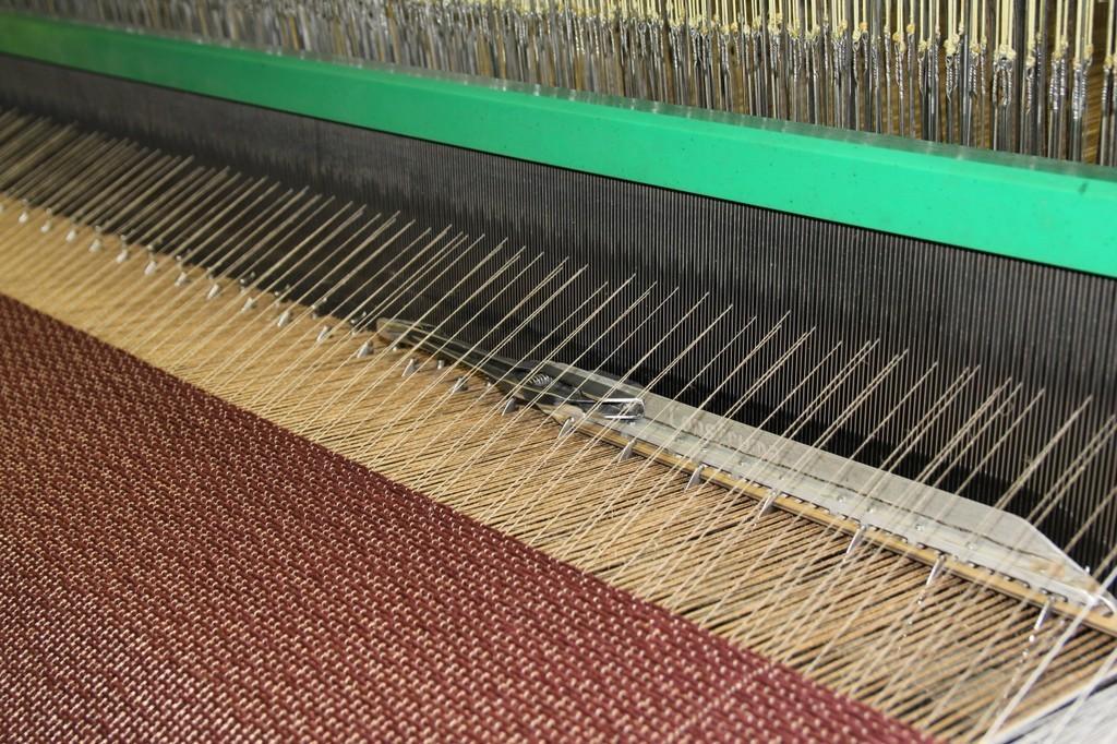 Vlakweef tapijt weven