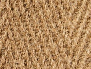 Carpet in jute